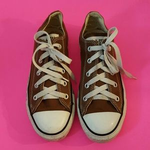Converse All Star Brown Tennis Shoes
